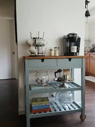 Kitchen Coffee Bar Charmed Crown Blog Diy Ikea Coffee Cart Home Decor Pinterest