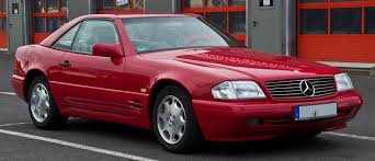 It's from europe, which means this 1992 sl is extra fancy. Mercedes Benz Sl Class R129 Wikipedia