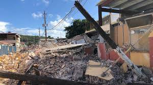 How to evaluate and diagnose complex combinations of foundation movement cracks, bends, leans, or shifts in foundation walls different. Earthquake Damaged Buildings Cripple Puerto Rico Kctv5 Com