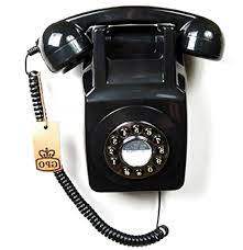 second hand wall mounted telephone gpo