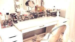 white makeup vanity with drawers make up desks modern white makeup vanity table with drawers pertaining