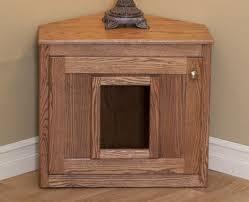 corner cat litter box furniture. Handcrafted Corner Cat Litter Box Furniture E