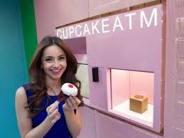 Cupcake Vending Machine Fascinating Check Out New York's First Cupcake ATM Business Insider