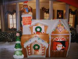 Decorate your house and yard with gingerbread this holiday season.