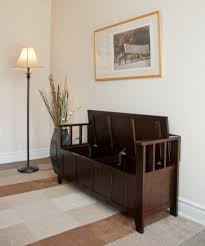 entry furniture ideas. storage bench inside classic entryway with beige wall and luxury arts entry furniture ideas