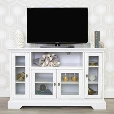 white tv entertainment center. Walker Edison Furniture Company White Entertainment Center Tv The Home Depot