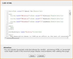 Inserting and modifying HTML or JavaScript - Wild Apricot Help