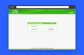 Admin pada route zte f609/f660 yang menyatakan bahwa password. Cara Login Ke Router Zte F609 Indihome