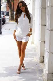 Trend Alert: White Shorts | The Fashion Foot