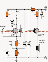 circuit diagram of fm transmitter and receiver images laser based one transistor fm radio circuit diagram simple fm using