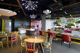 google office cafeteria. Nature Explodes Indoors At Google\u0027s New Malaysian HQ Google Office Cafeteria O
