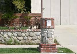 stone mailbox designs. Brick And Stone Mailbox Designs