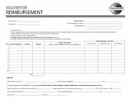 Travel Reimbursement Form Template Expenses Form Template Pdf Simple Reimbursement Expense