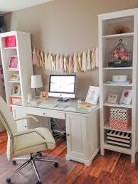 work desk ideas white office. fine white love this office space the garland i would rather a personalized photo  garland throughout work desk ideas white office