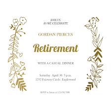 Retirement Invitations Free 015 Template Ideas Retirement Invitation Templates Free