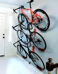 bike wall storage bike rack wall