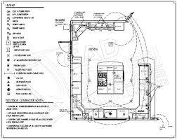 pin Drawn kitchen layout drawing #1