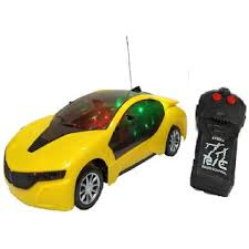 Buy New Pinch <b>Remote Control 3D lighting</b> Effect Racing <b>Car</b> With 2 ...