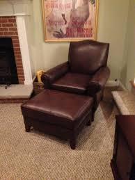 Armchair Upholstery Ottoman Mesmerizing Leather Chair And Ottoman Upholstery Chairs