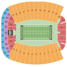 Doak Stadium Seating Chart Doak Campbell Virtual Seating Chart Miami Hurricanes