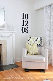 best 25 wedding date sign ideas on pinterest diy wedding gifts Wedding Date On Canvas diy modern art for the living room paint some numbers on a canvas that are significant to you, like a wedding date or child's birthdate wedding date canvas