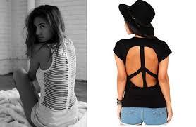 t shirt cutting designs ideas