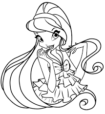 Small Picture Winx club coloring pages stella ColoringStar