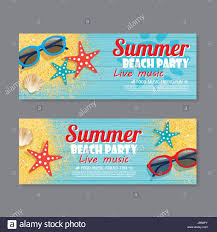 Birthday Invitation Flyer Template New Summer Beach Party Invitation ...