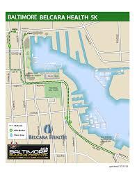 Baltimore 10 Miler Elevation Chart 5k Baltimore Running Festival