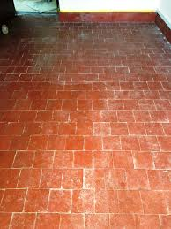 quarry tiled floor banbury before cleaning