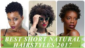 Short Natural Hair Style For Black Women best short natural hairstyles for african women 2017 youtube 4746 by wearticles.com