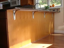 image of countertop support brackets with convenience