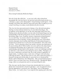 essay cover letter an example of a reflective essay an example of essay how to write reflective essay examples template cover letter an example of a reflective essay