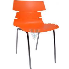 orange plastic chair. The Alisar Steel Frame Plastic Chair Orange