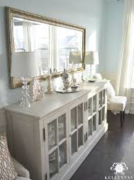 great restoration hardware french casement sideboard buffet in blue with buffet dining table ideas