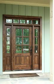 entry door with single sidelight 6 8 single knotty alder door w sidelights and transom clear entry door with single sidelight