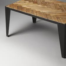 Iron And Wood Coffee Table Industrial Modern Iron And Wood Coffee Table Woodwaves