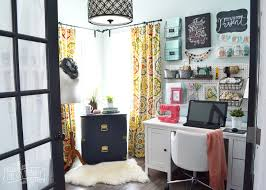 craft room home office design. Home Office Craft Room Design Regarding My Colourful Boho Tour (Video)