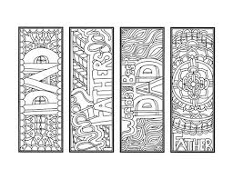 We have happy children and happy mother. Diy Father S Day Bookmarks Set Of 4 Printable Coloring Etsy