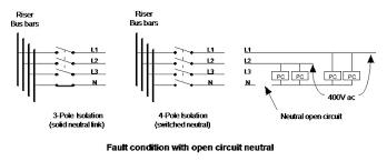 4 pole isolator switch wiring diagram 4 image open neutral on 4 pole isolator switch wiring diagram