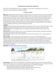 Primary Succession And Secondary Succession Venn Diagram 2015 Science Gateway Study Guide