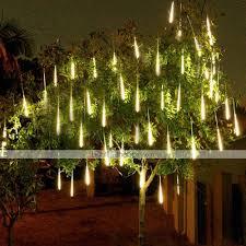 Falling Christmas Tree Lights 4 Pack 50cm X10 20inch Shower Rain Lights 540 Led Falling