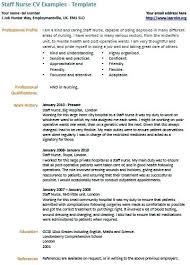 Free Nurse Resumes Bsc Nursing Resume Format Download