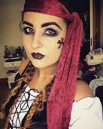 beautiful women in pirate makeup