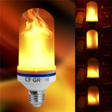 Us 7 95 44 Off E26 E27 Led Flame Effect Fire Light Bulb Smd2835 Flickering Decorative Flame Lamp 1200k Ac85v 265v In Led Bulbs Tubes From Lights