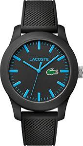 lacoste mens quartz watch analogue classic display and rubber lacoste mens quartz watch analogue classic display and rubber strap 2010791