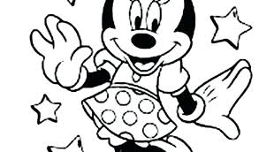 Minnie Mouse Birthday Coloring Pages Mickey Birthday Coloring Pages