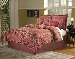 red and gold bedding sets luxury comforter sets in queen 9 and king sets for incredible red and gold bedding sets