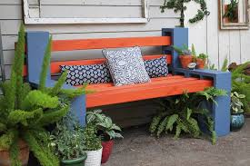 concrete block furniture. contemporary block thereu0027s no need to spend hundreds or thousands of dollars on patio furniture  when you can create fun practical pieces with cinder blocks and wooden posts on concrete block furniture