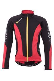 Fang Kids Cycling Thermal Jersey